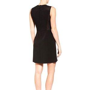 Michael Kors Studded Mesh Side Sleeveless Dress 6